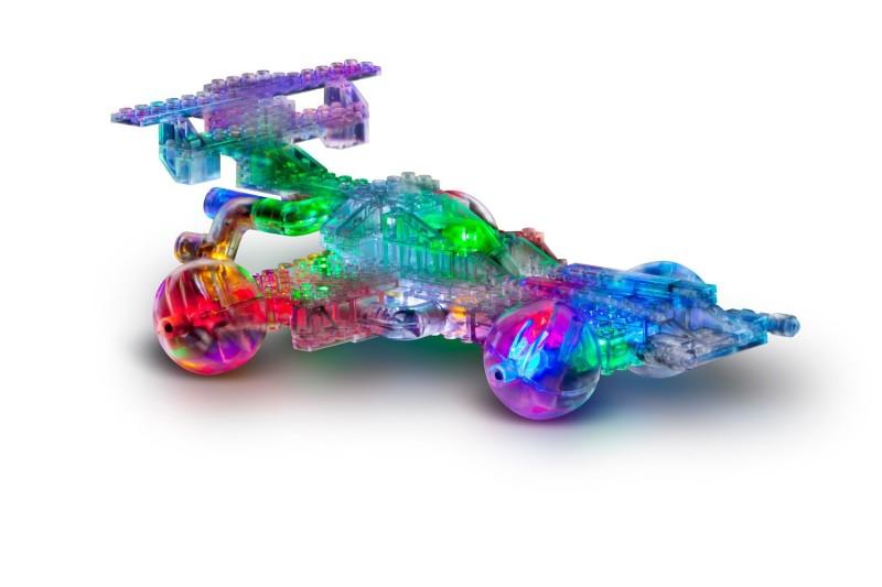 coche luminoso